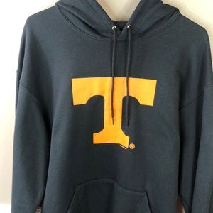 University of Tennessee L Hoodie Black